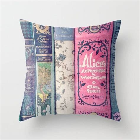 Pillow Stories land of stories pillow books decor bedding nursery