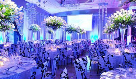 blue wedding decorationwedwebtalks wedwebtalks