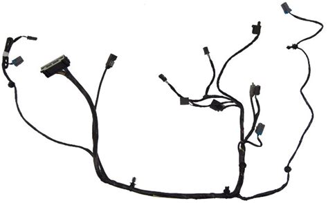 equinox terrain center console wire harness wo rear dvd jack