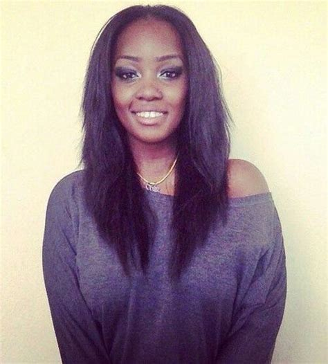 crochet hair straight straight crochet braids pinteres
