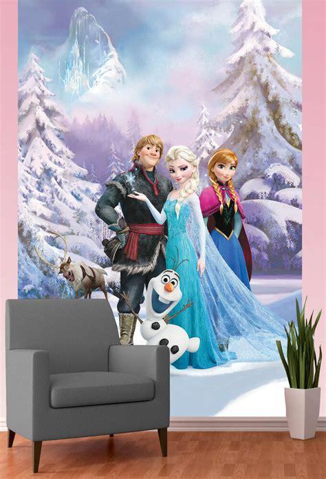 olaf gifts for s gift disney frozen wallpaper mural elsa sven olaf gift bedroom wall decor ebay