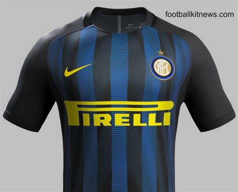 Inter Jersey new inter milan kits 2016 17 nike internazionale home