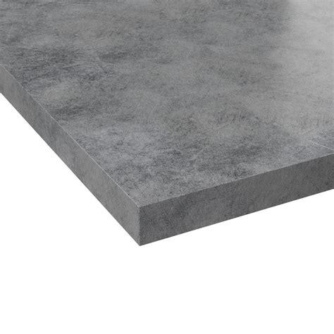 Plan De Travail Gris Beton 4031 by Plan De Travail On Cuisine Concrete Counter