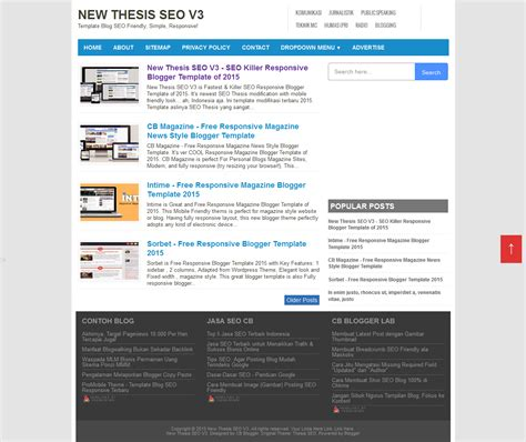 template responsive seo friendly template responsive seo friendly new thesis seo v3