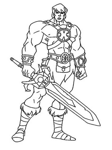 He Man Coloring Pages Free Printable He Man Coloring Pages He Coloring Pages