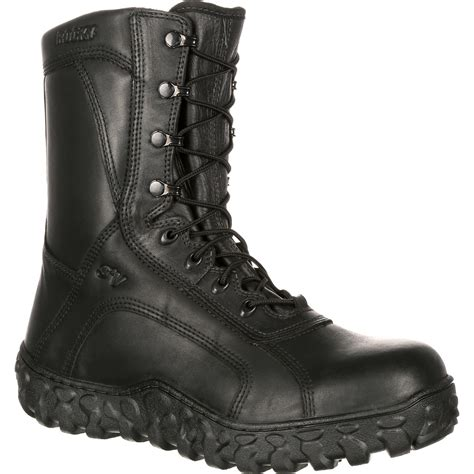 steel toe combat boots rocky s2v steel toe tactical boot made in usa