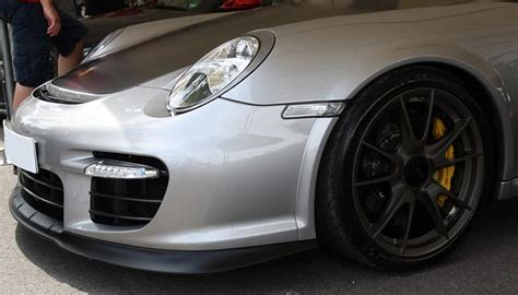 porsche boxster fender flares porsche gt2 style rs front fender flares for 997t nr