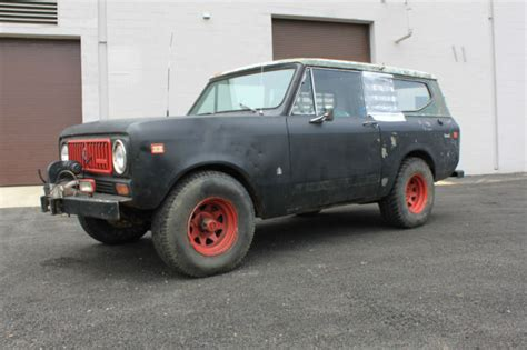 Jeep Scout 1974 International Scout Ii 4x4 Factory Ac