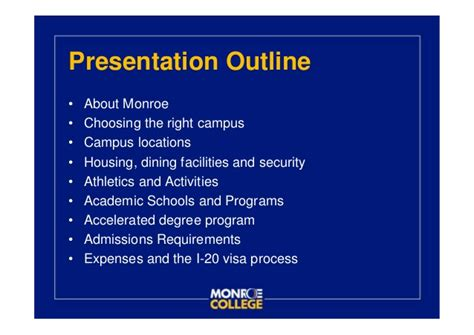 College Of New Rochelle Mba by College Ppt
