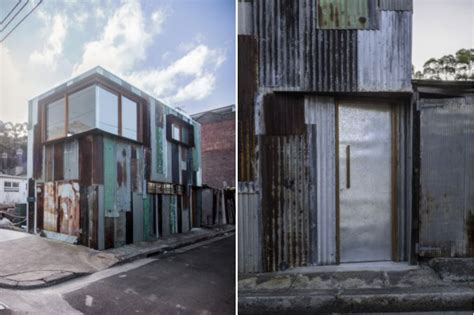 Tin Shed House Design by Tin Shed Transformed Into Beautiful Two Story Studio