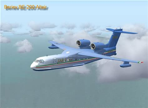 be a beriev be 200 altair for fsx