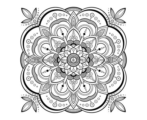 mandala coloring pages pdf printable coloring book page pdf mandala coloring