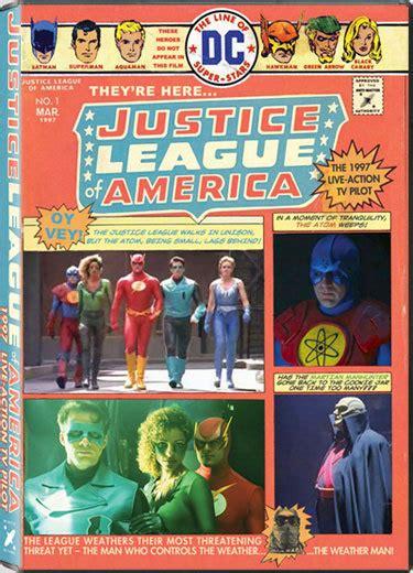 justice league of america film 1997 the justice league 1997 pilot retro viewing mutant