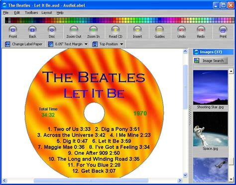 Cd Label Drucken Kostenlos Download by Audiolabel Cd Dvd Labeler 4 40 32 64bit Herunterladen