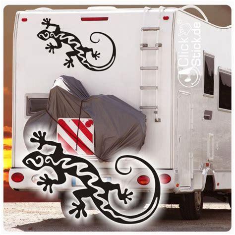 Wohnmobil Aufkleber Hobby by Womo001 Gecko Echse Wohnmobil Aufkleber Wohnwagen Sticker