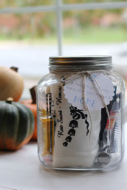 housewarming gift idea bewhatwelove how to housewarming gift jars make