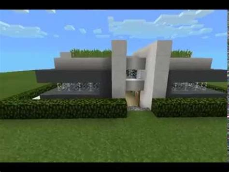 mcpe modern house full download mcpe map review modern house