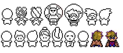 pokemon sprite template images pokemon images
