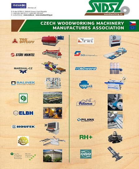 czech woodworking machinery manufacturers association svdsz
