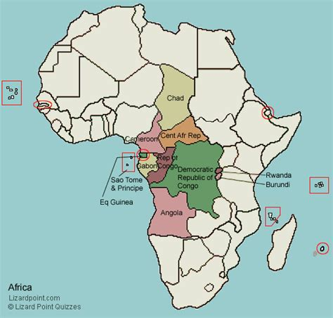 test your geography knowledge central africa countries