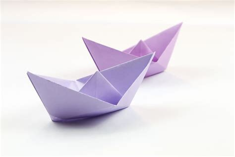 Simple Boat Origami - easy origami boat