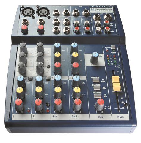 Mixer Audio Cina notepad 102 soundcraft professional audio mixers