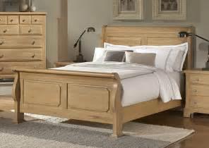 furniture gt bedroom furniture gt bed gt light oak finish bed