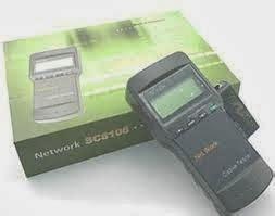 Lan Tester Alat Untuk Test Kabel Network T3010 1 meganet store lan tester