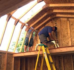 barn roof truss 12 215 16 barn style gambrel roof shed plans