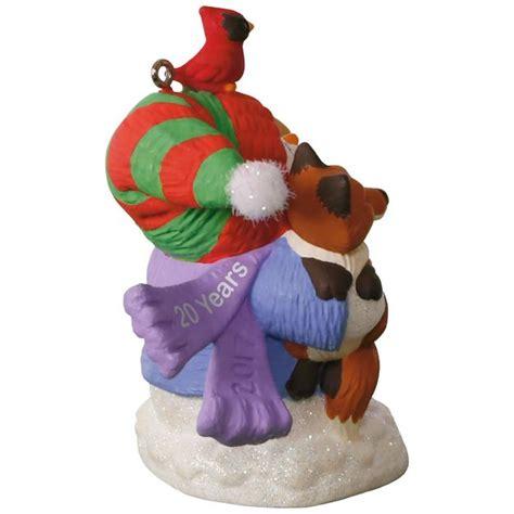 2017 snowbuddies 20th anniversary hallmark ornament