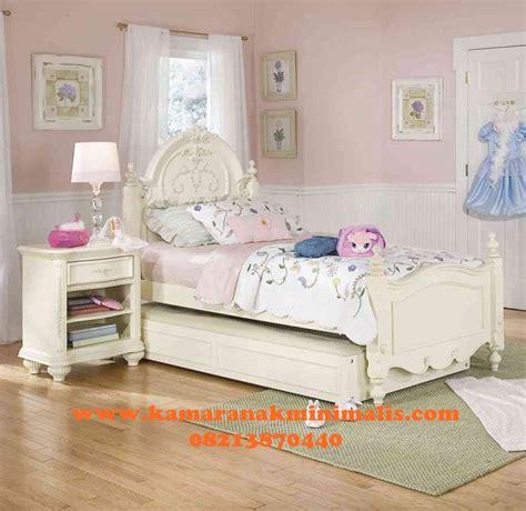 Tempat Tidur Sorong Guhdo tempat tidur anak sorong klasik kamar tidur anak minimalis furniture jepara kamar tidur anak