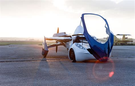 wallpaper aeromobil  concept car aircraft flying