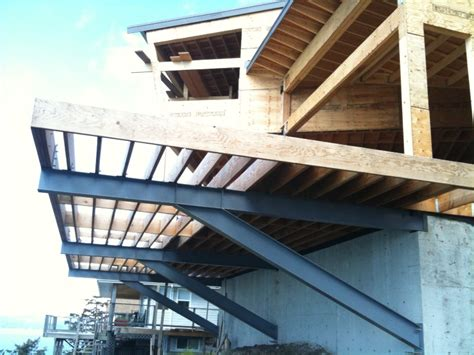 Cantilevered Deck | graham barron design blog cliff house deck cantilever