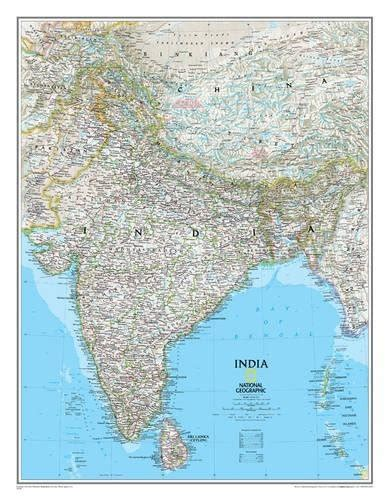 scotland classic tubed national geographic reference map books india classic laminated national geographic reference