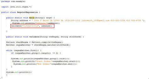 zip code regular expression pattern regular expressions in java
