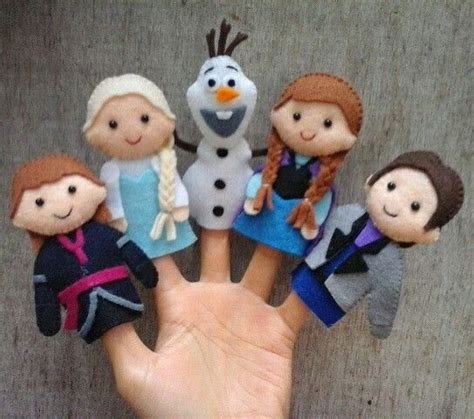 printable frozen finger puppets 25 best ideas about finger puppets on pinterest puppets
