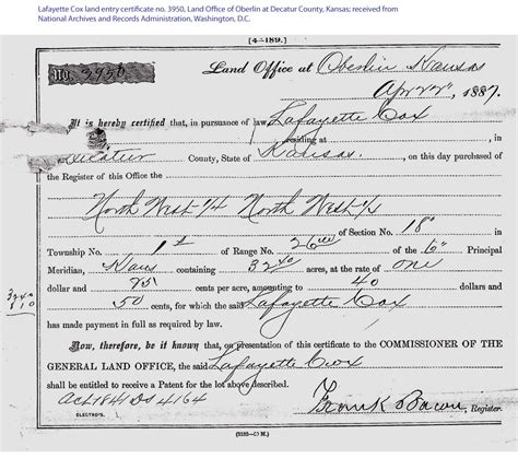 Johnson County Ks Marriage Records Lafayette Cox