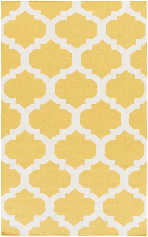 yellow and white rug artistic weavers york harlow awhd1035 yellow white area rug payless rugs york collection by