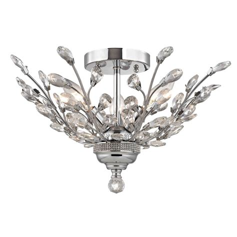 Ceiling Mounted Chandelier Accessories Indoor Ceiling Lights With Flush Mount Chandelier For Interior Modern Bedroom