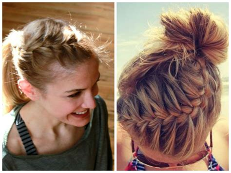 how to wear short hair for gymnastic meet hairstyles to wear to the gym hair world magazine