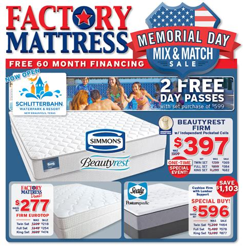 Mattress Sale Memorial Day by Discount Mattress Sales Stores Factory Mattress 174