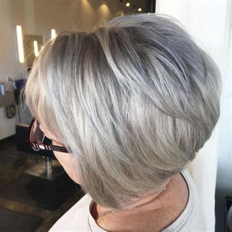 Platinum Hairstyles by Platinum Hairstyles With Some Brown Highlights In