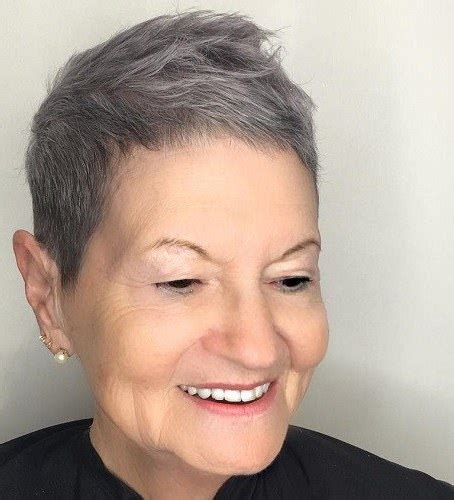 short hairstyles for women over 70 gray hair 20 lovely hairstyles and haircuts for women over 70