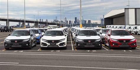 Car Types In Australia by 2018 Honda Civic Type R Docks In Australia Photos