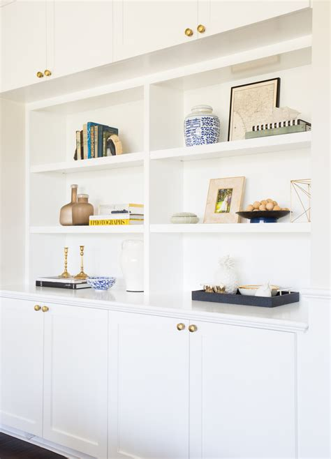Living Room Shelf Styling Pacific Palisades Project Great Room Kitchen Studio Mcgee