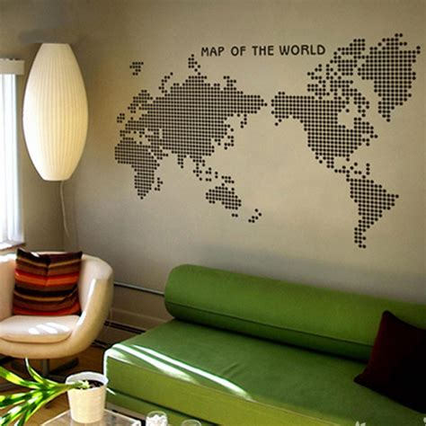 creative wall stickers map purse picture more detailed picture about large new