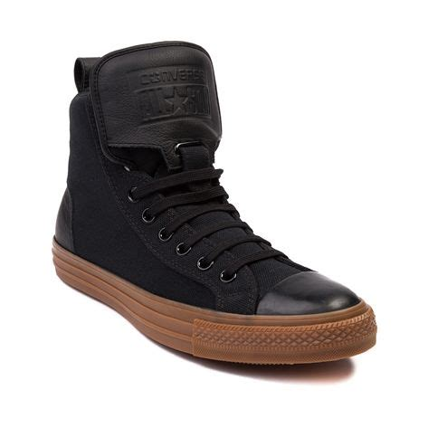 Converse Chuck Hi Top Gume Sole shop for converse chuck guard hi sneaker in black gum at journeys shoes shop today for
