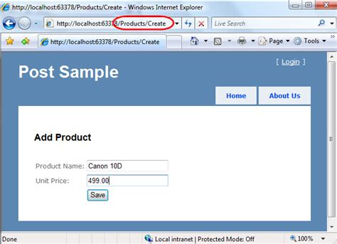 design form in mvc scottgu s blog asp net mvc preview 5 and form posting