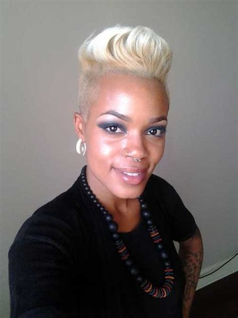 blonde short hair for african american women over 50 35 short blonde haircuts 2013 short hairstyles 2017