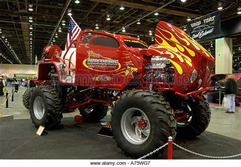 monster truck show detroit monster truck red stock photos monster truck red stock